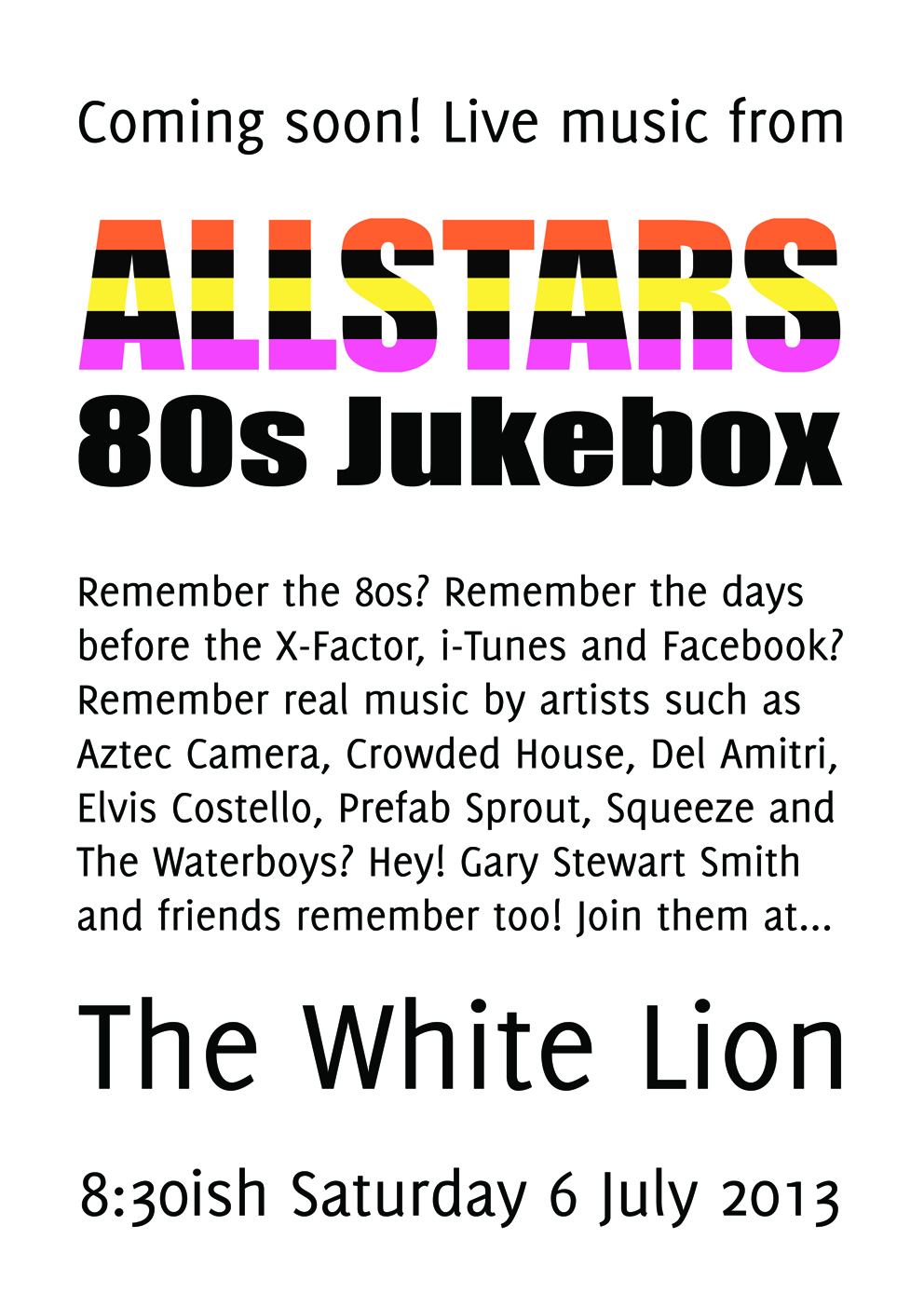 white lion 6 july 2013