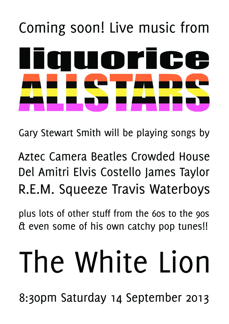 White Lion 14 september 2013