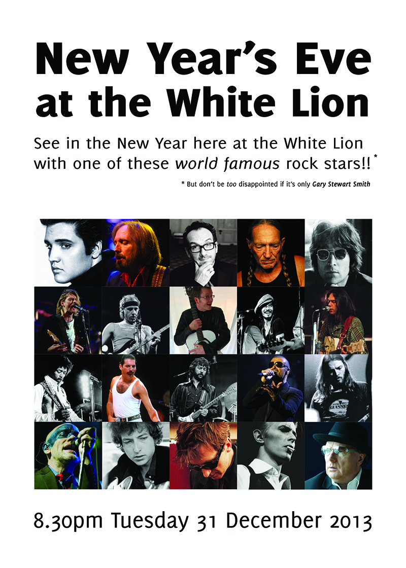 white lion new years eve 2013