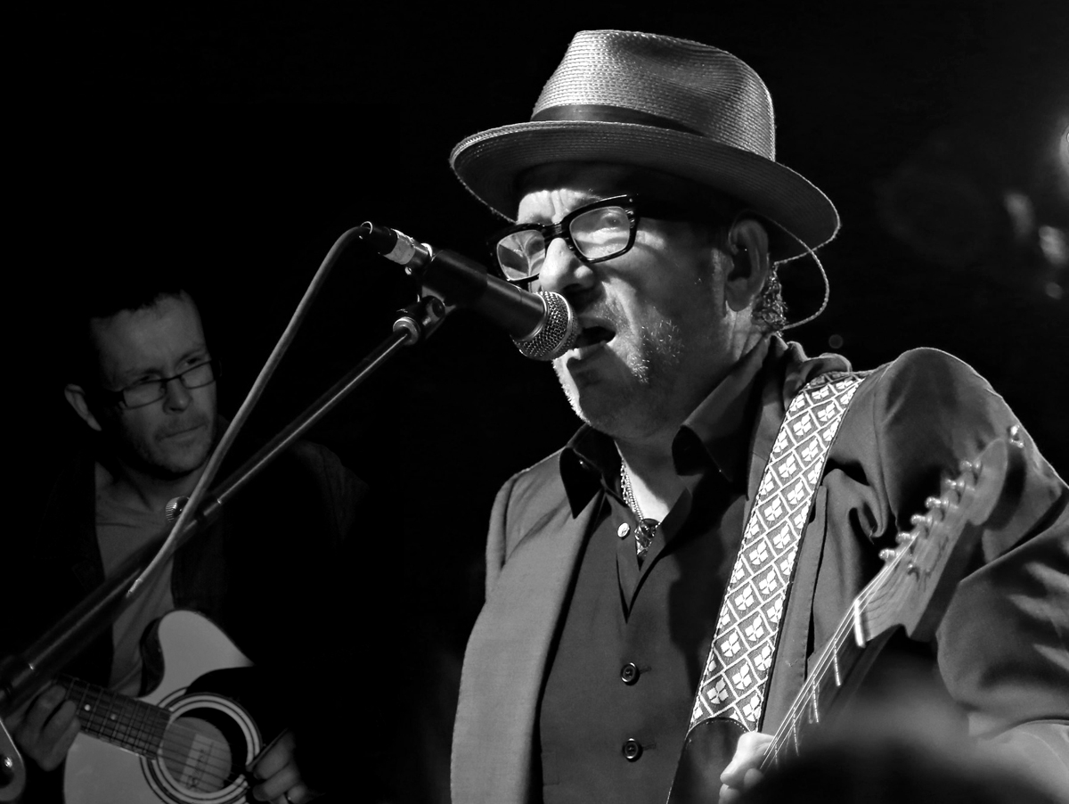 Elvis Costello and Gary Stewart Smith