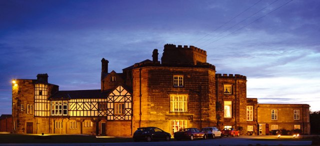 In November, I'll be storming Leasowe Castle. From the inside.